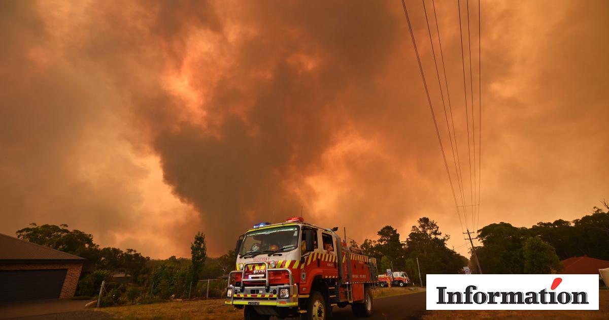 Australien Har Faet En Advarsel Med Flammeskrift Information