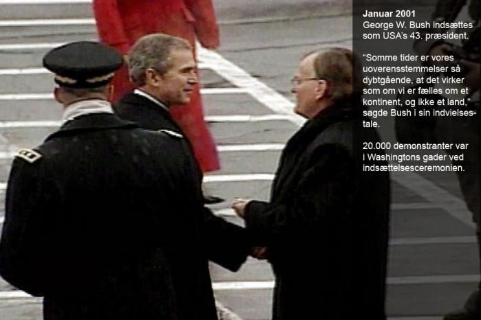 Otte år med en 'war president'