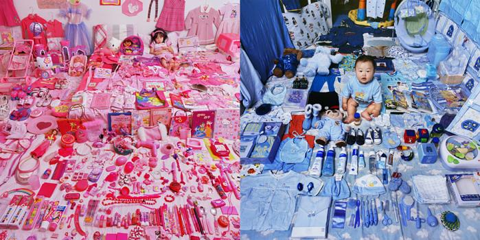 SeoWoo and Her Pink Things, 2006 - Jake and His Blue Things, 2006