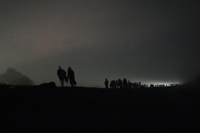Tusindvis og atter tusindvis af flygtninge strømmer netop nu gennem Slovenien med retning vestpå
