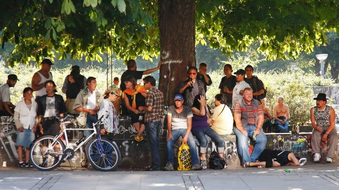 Hvad er det for offentlige rum, vi gerne vil have, og hvordan kan man gøre dem tilgængelige for alle? Foto: Torben Huss