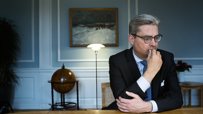 Justitsminister Søren Pind (V) mener, at det er en skræmmekampagne, når kritikere taler imod masseovervågning af vores internetaktivitet