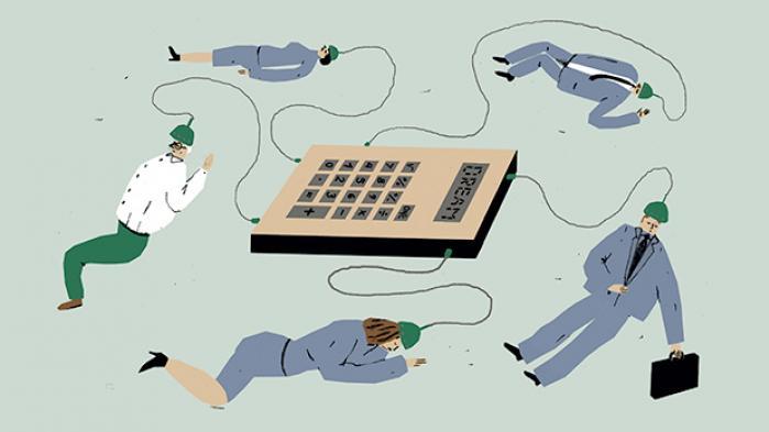 Alt for længe har topøkonomer, embedsmænd og professorer fæstnet deres lid til en verdensfjern regnemaskine. Det er på tide at vågne op og sige farvel til DREAM