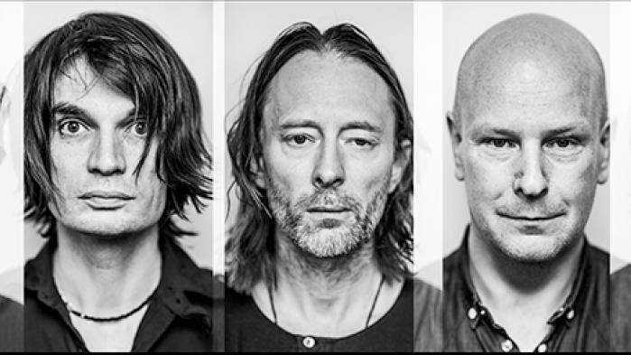 Radiohead består af (fra venstre): Colin Greenwood, Jonny Greenwood, Thom Yorke, Phil Selway og Ed O'Brien