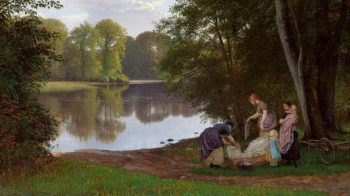 Med lån fra Skovgaardmuseet har Rønnebæksholm skabt en fin og tankevækkende udstilling om det danske landskabsmaleris udvikling i perioden fra 1830 til 1930