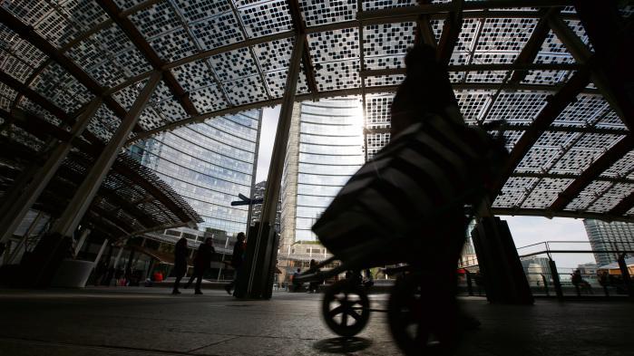 I Milanos finanscentrum, Porta Nuova, holder man øje med efterdønningerne af briternes beslutning om at forlade EU.