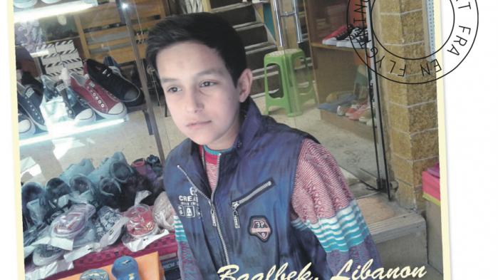 Jeg hedder Abdalazeez Al-Masri. Jeg er 10 år gammel og bor i Baalbek, Libanon.