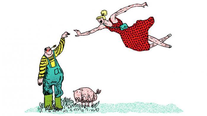 Landbruget lider, men vores forskelligartede drømme om livet på landet gødes så rigeligt i tv. For nogle er drømmen økologisk selvforsyning, for andre er det en landmand, der ser godt ud i overalls