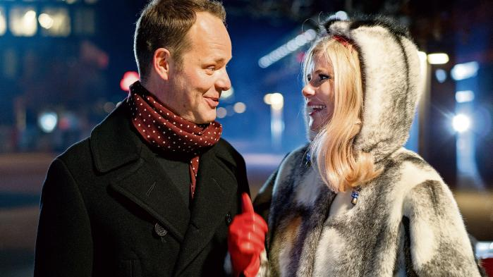 Jacob Riising og Sofie Linde juler julen helt op til det allermest julede, ens julehjerte kan drømme om i DR's juleshow.