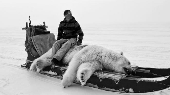 Med et kamera under armen dokumenterer fotograf og biolog Carsten Egevang den grønlandske fangerkultur, som er i fare for at forsvinde på grund af de klimaforandringer, der præger Grønland netop nu