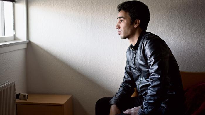 Mens Mouhamad Ali Alkazai ventede på at få sin familie til Danmark fra Syrien, forværredes hans psykiske tilstand.