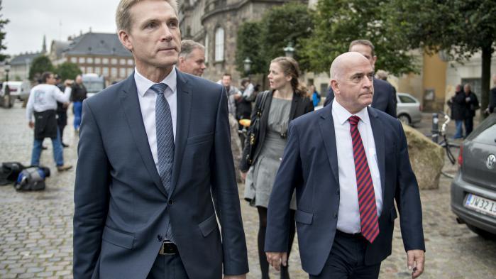 'Jeg kan ikke sætte mig i deres sted,'erklærede Søren Espersen om ofrene for Dansk Folkepartis annoncekampagne.