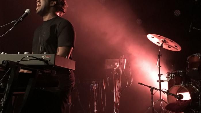 Sampha ved en koncert i Vega sidste år