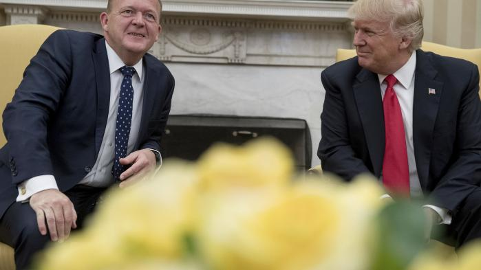 Modtagelse af den danske statsminister var et af de mindre konfliktfyldte programpunkter i Trumps uge.