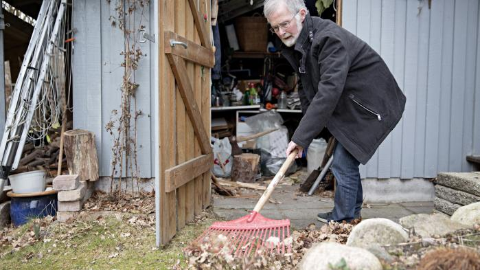 'Det sociale fællesskab er også noget, vi deltager i rent praktisk. Der skal laves mad, gøres rent og ryddes op,' siger Per Schultz Jørgen.