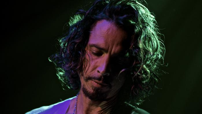 Chris Cornell ved en Soundgarden-koncert i Webster Hall, New York