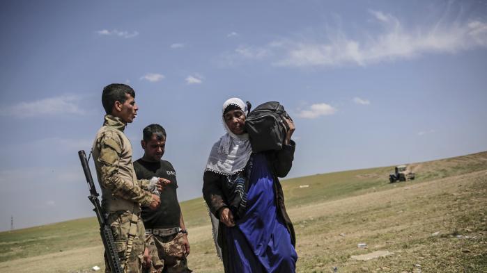 De irakiske sikkerhedsstyrker kæmper lige nu for at generobre desidste dele af Mosul fra Islamisk Stat.