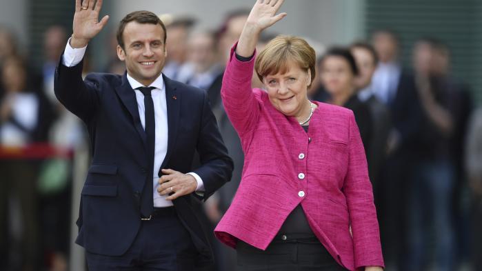 Emmanuel Macron og Angela Merkel er begge fortalere foret europæisk samarbejde i forskellige hastigheder.