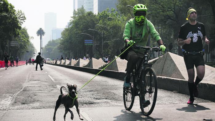 Mexico City oplever i øjeblikket den længste periode nogensinde med alvorlig luftfourening. Det har fået myndighederne til at beordre tusindvis af biler væk fra gaderne.