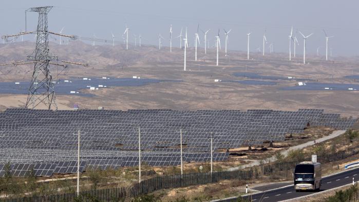 I 2016 var Kina det land i verden, der investerede mest i vedvarende energi.