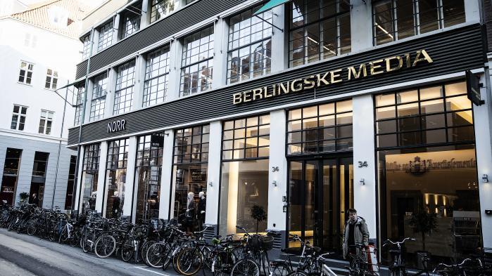 'Jeg synes, der er en tendens til, at man lukker det ene øje og kun kigger med det andet,' siger Berlingskes chefredaktør Tom Jensen.