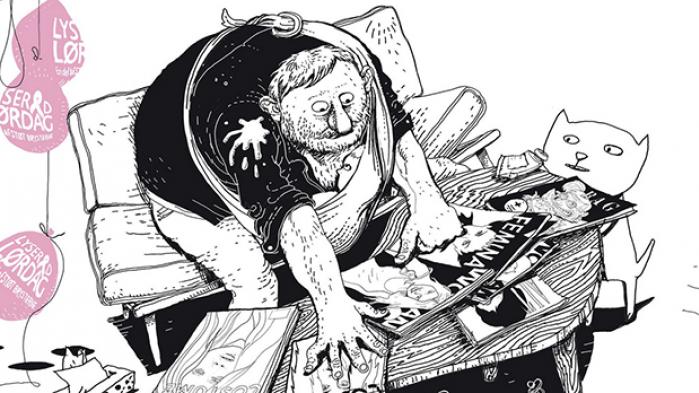 Hver weekend bringer Moderne Tider en tegning af Christoffer Zieler. I dette galleri får du et udpluk af tegnerens egne favoritter fra året, der gik