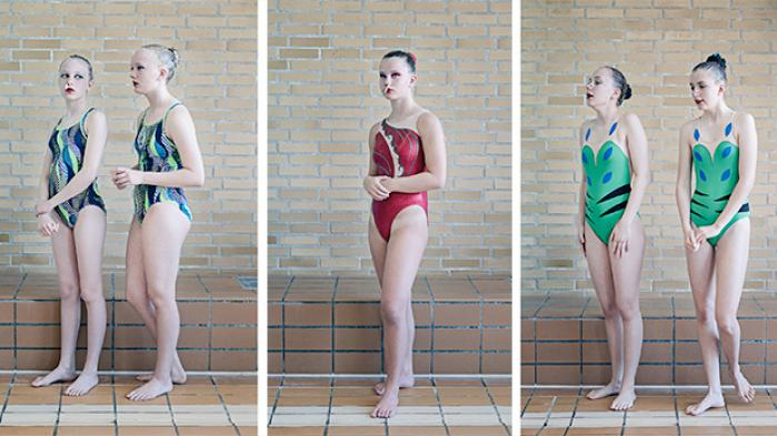 En billedfortælling om synkronsvømning
