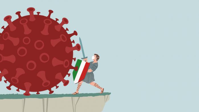 Inspireret af Doriano Strologos illustration fra Italien besluttede vi os for at efterlyse illustrationer fra hele kloden. Vi sendte en efterlysning ud via sociale medier, og den gik – med et ord, der nu pludselig havde fået en lidt anden klang – viralt.