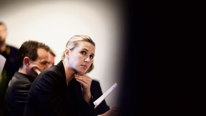 Socialdemokarternes kronprinsesse, Mette Frederiksen.