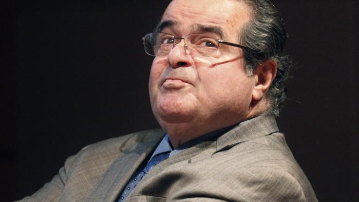Den indflydelsesrige konservative højesteretsdommer Antonin Scalia