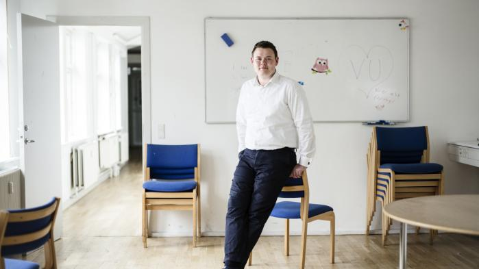 'Dansk Folkeparti er nødt til at at komme med nogle markante EU-indrømmelser, hvis de skal med i regering,' siger formand for Venstres Ungdom, Chris Preuss.