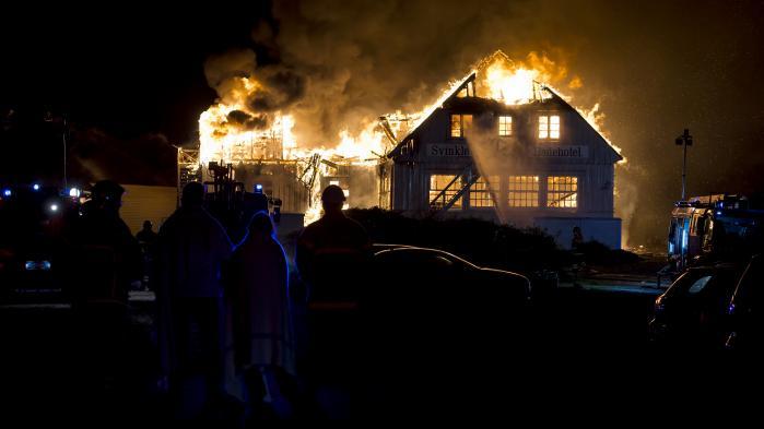 Det historiske Svinkløv badehotel er brændt ned til grunden. Hotellet har været med til at løfte hele området – i samspil med den fantastiske natur.