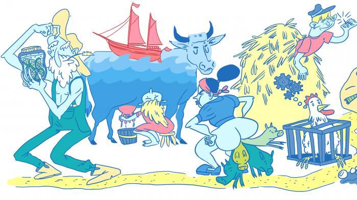 I århundreder har det danske landbrug været 'højt på strå', men udviklingen har fået landmændene til at 'slå sig i tøjret'. Det danske sprog er spækket med udtryk, metaforer og ordsprog fra landbruget – men vil det vare ved?