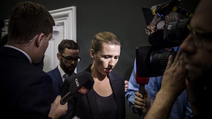 'Der er en gruppe af partier, som vil pege på Mette Frederiksen (billedet) som statsminister. Men der er ikke en rød blok med et fælles funderet politisk projekt,' siger Enhedslistens politiske ordfører, Pernille Skipper.