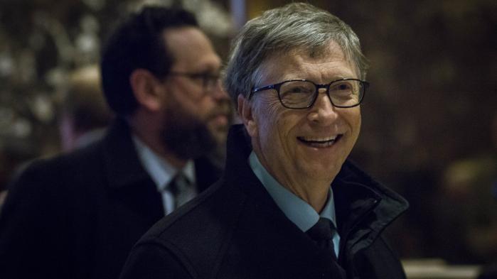 Bill Gates er en af verdens rigeste mænd.