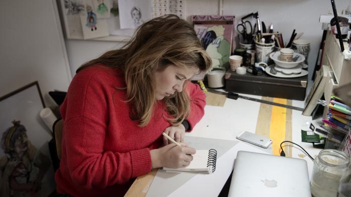 Ida Felicia Noack tilhører den nye generation af tegneserietegnere, og hendes fortællinger kredser om det erotiske. Men det er ikke meningen, at læseren skal blive opstemt. Tværtimod. I weekenden finder Danmarks største tegneseriefestival sted, og her kan man blandt andet møde tegneren