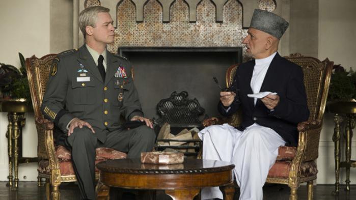Brad Pitt spiller en amerikansk general, der forsøger at redde Afghanistan fra sig selv i Netflix og David Michôds satiriske 'War Machine', der er inspireret af virkelige begivenheder