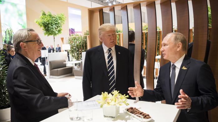 Putin og Trump mødtes i Hamborg i begyndelsen af juli, hvor de blev enige om fælles strategi for dele af Syrien.