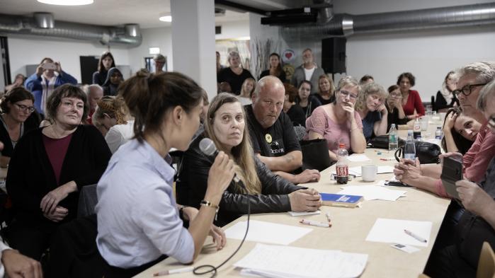 Tidligere på måneden var frustrerede borgere til dialogmøde med Anna Mee Allerslev (R) om retten til førtidspension. Nu er 41 fagforbund gået sammen om forslag til ændringer af reglerne om førtidspension.