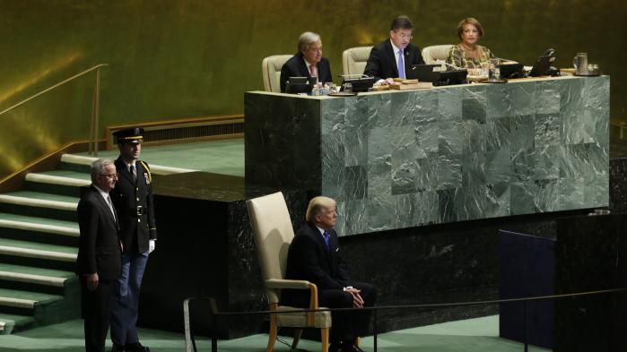 I Trumps FN-tale blev Venezuela optaget som nyt medlem i en klub af tre slyngelstater
