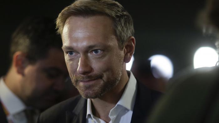 FDP-leder Christian Lindner er blevet symbolet på sit partis succes op til valget søndag.