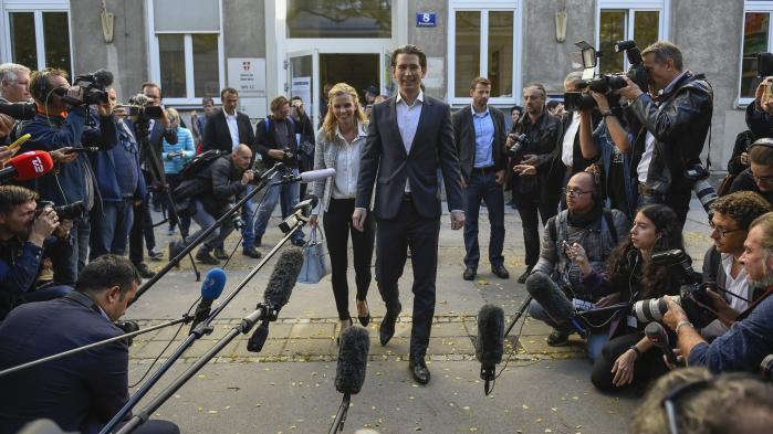 Sebastian Kurz lagde ikke op til en mildere kurs end den, der har drevet det konservative ÖVP langt mod højre, da det i går blev klart, at han var det østrigske valgs store vinder og den mest sandsynlige fremtidige kansler.