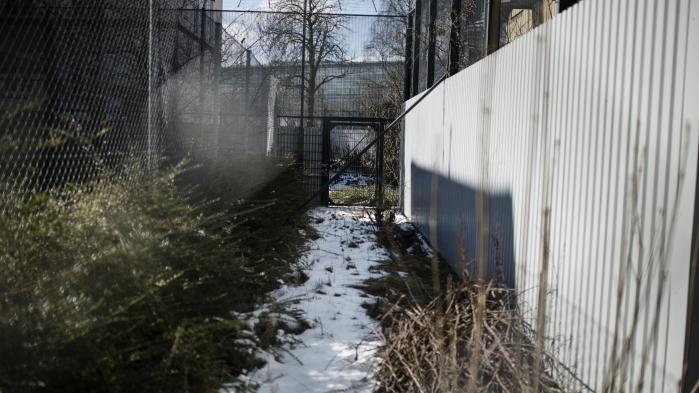 Den sikrede institution Sønderbro.