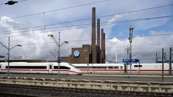 Volkswagens fabrikker i Wolfsburg. Brexit har en stor vigtighed for Tyskland, ikke mindst for tysk industri.