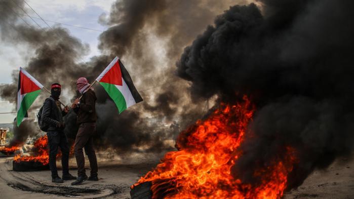 Palæstinensere protesterer på Gazastriben mod Donald Trumps anerkendelse af Jerusalem som Israels hovedstad. Måske har den amerikanske præsident gjort palæstinenserne en tjeneste med sin seneste udmelding.