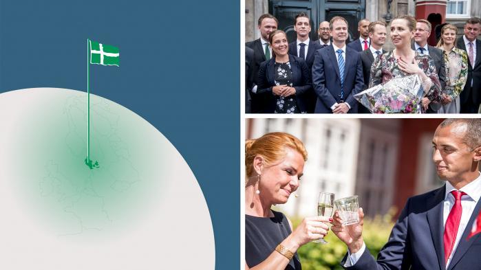 Danmark har fået en ny regering, så Radio Information får sig en lille optur over det danske demokrati og kommer også omkring de grønne ambitioner, regeringens ikke-regeringsgrundlag og udlændingepolitikken