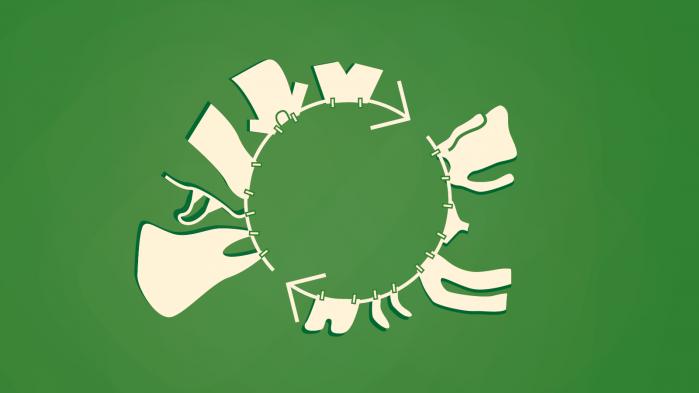Modeindustrien står for op mod ti procent af de menneskeskabte drivhusgasser. Hvis branchen skal gøres bæredygtig, er et opgør med overproduktionen og -forbruget af tøj afgørende, fortæller Else Skjold fra Kunstakademiets Designskole i Informations klimapodcast 'Den grønne løsning'