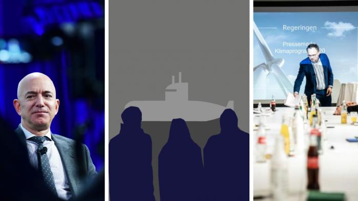 I denne udgave af Radio Information skal vi tale om coronabaronen Jeff Bezos og i den forbindelse sige en række astronomiske tal. Vi skal tale om den nye serie 'Efterforskningen' og om det klimaprogram, der mødte hård kritik og kan ryste det parlamentariske grundlag i Danmark