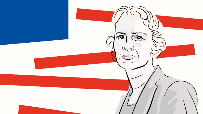 Hvis Donald Trump taber, vil hans spøgelse hjemsøge venstrefløjen og blive brugt til at disciplinere den, siger den albanske tænker Lea Ypi i podcastserien 'Langsomme samtaler om USA' med Rune Lykkeberg
