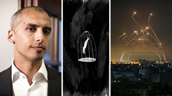 Foto/illustration: Anas Baba/AFP/Ritzau Scanpix, Mia Mottelson & Emil Helms/Ritzau Scanpix.